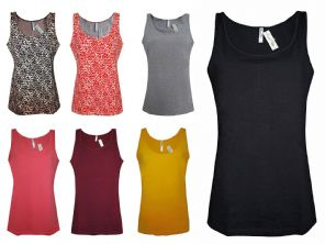 Wholesale Womens Vests & Camisoles - Wholesale Womens B.C Vest Tank Tops Figure Fit Jersey Size 6 to 14 - Womens Wholesale Clothing - iFashionWholesale.com - Specialist in Ex Chainstore Wholesale Clothing.